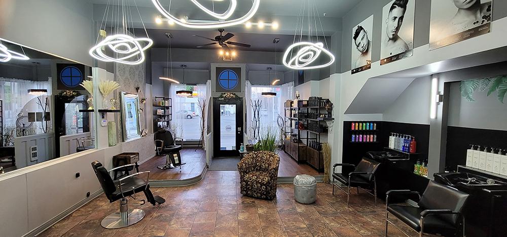 Le studio-coiffure PA